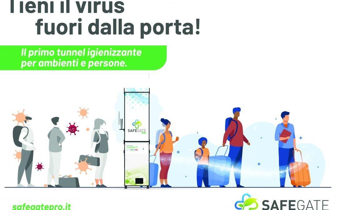 Safegate Pro dell'azienda abruzzese Smart Projects: una rivoluzione nel controllo degli accessi e nell'igienizzazione